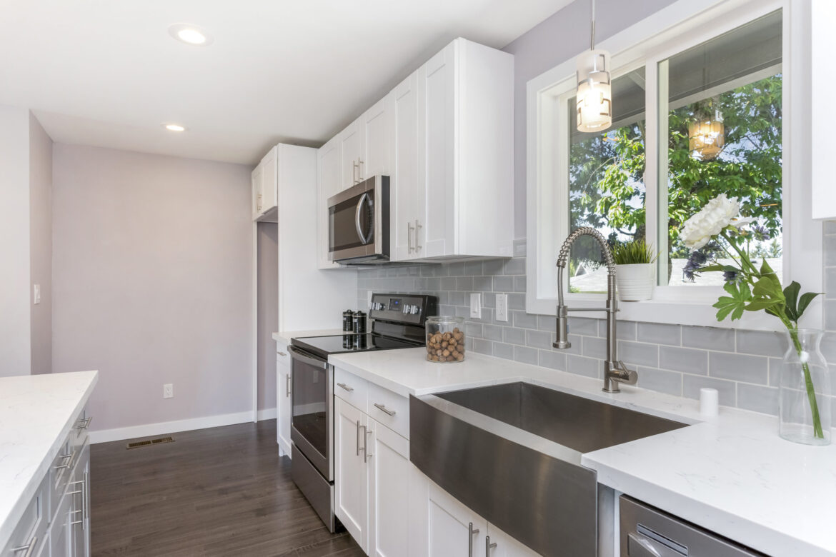 How can I make my kitchen more luxurious on a budget?